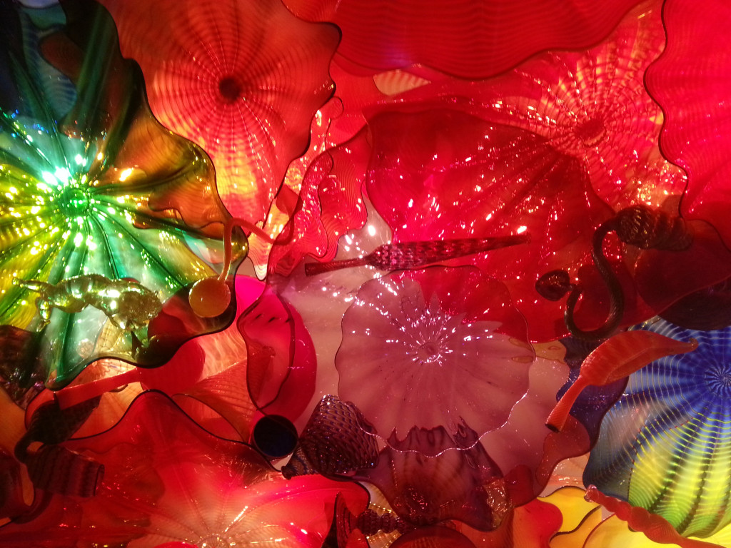 Chihuly Abstract Glass Sculpture