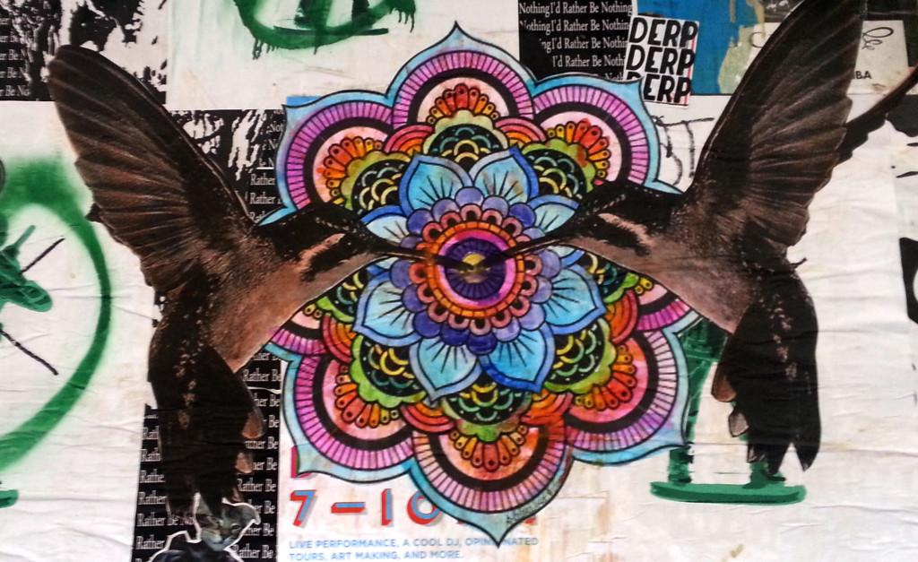 Hummingbird Graffiiti
