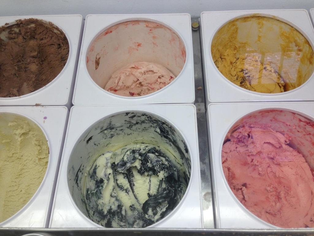 ice cream bins