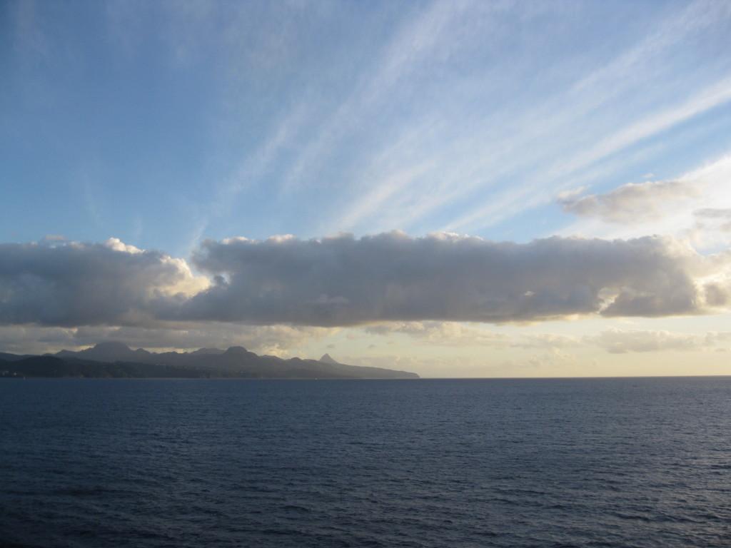 sky, clouds, sea