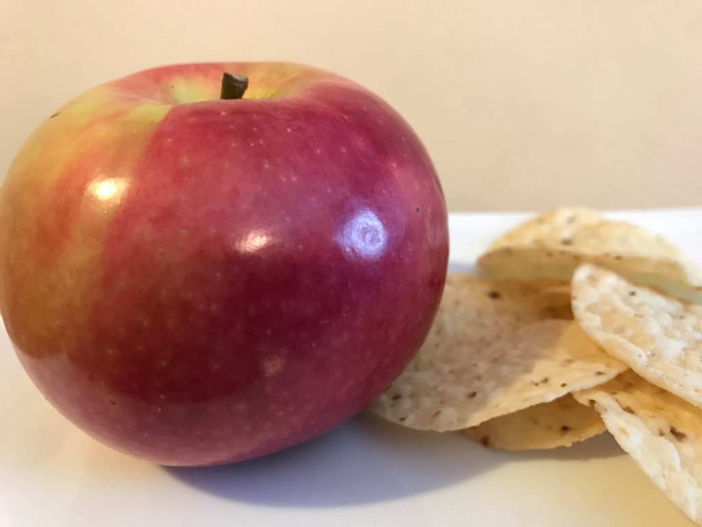 apple and chips