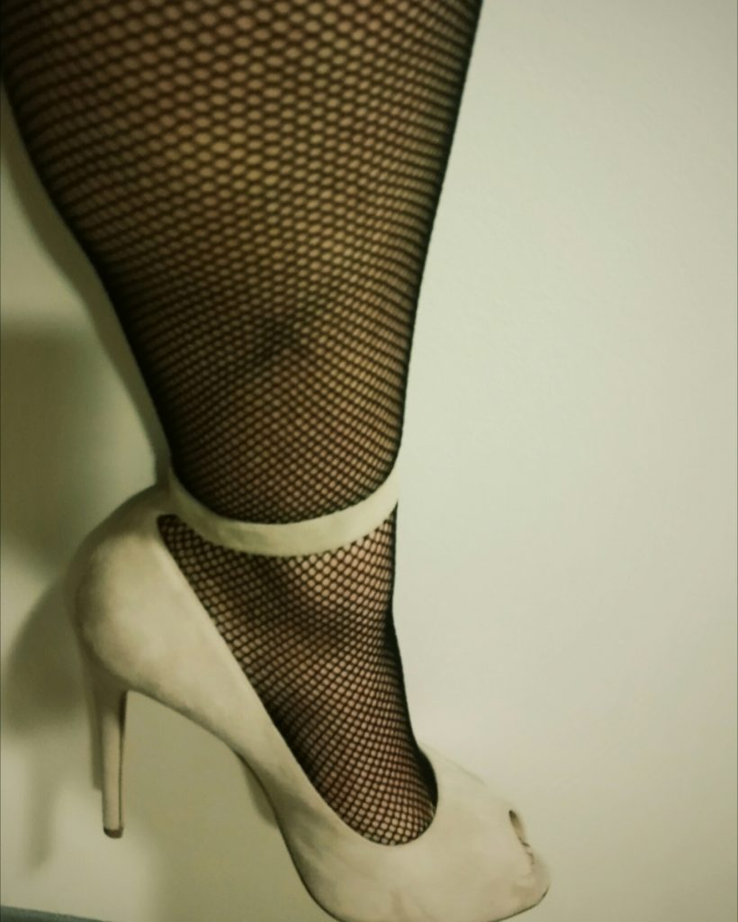 fishnets & high heels
