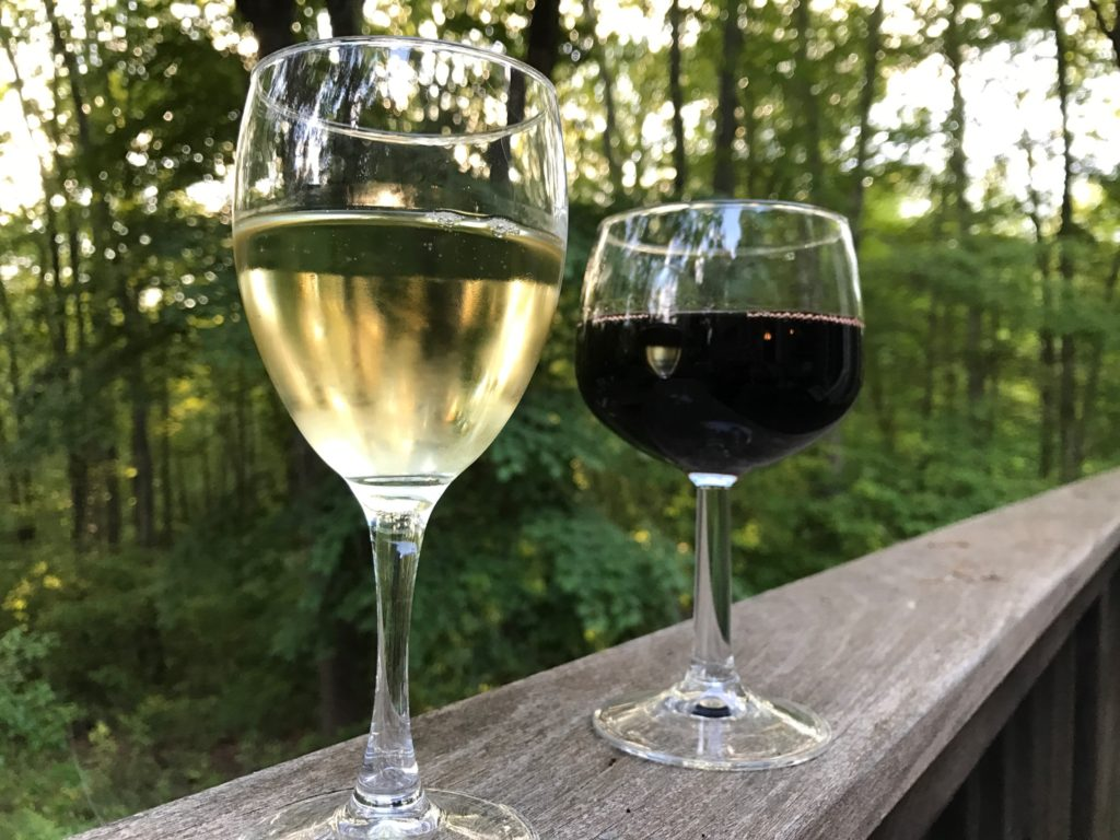 glasses of wine