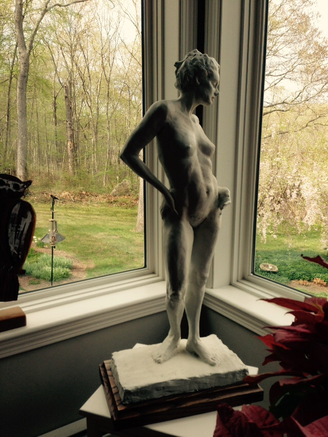 sculpture of a nude