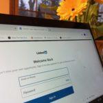 LinkedIn login page