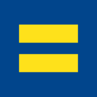 blue & yellow equal sign
